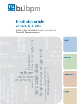 Institutsbericht 2013 – 2016