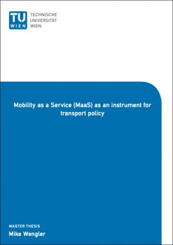 Mobility as a Service (MaaS) as an instrument for transport polic