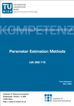 Parameter Estimation Methods