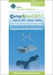 The CompWood 2017 Programme & Book of Abstracts